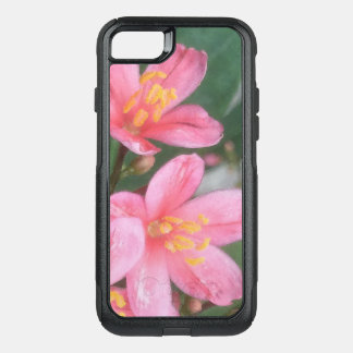 Key West Pink Flowers OtterBox Commuter iPhone 8/7 Case