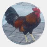 Key West Rooster Sticker