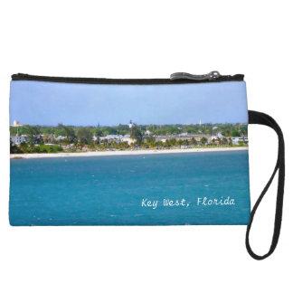 Key West Shoreline Scene Custom Wristlet
