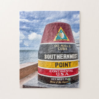 Key West Southernmost Point Puzzle