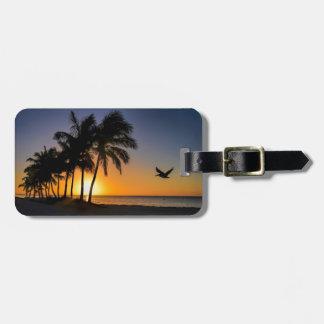 Key West Sunrise Luggage Tag