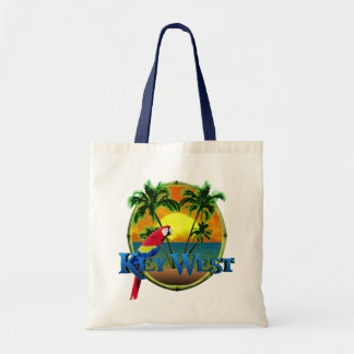Key West Sunset Budget Tote Bag