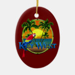 Key West Sunset Christmas Ornament