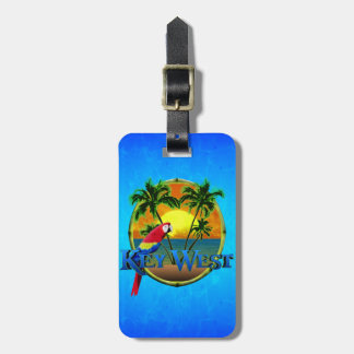 Key West Sunset Luggage Tag