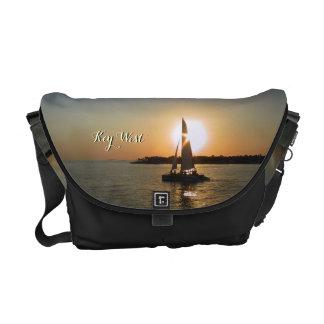 Key West Sunset Messenger Bag
