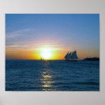 Key West sunset Print