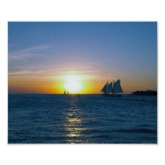 Key West sunset Print