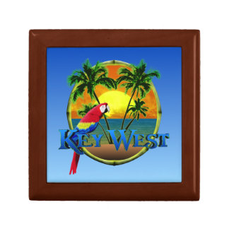 Key West Sunset Small Square Gift Box