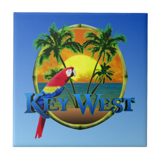 Key West Sunset Tile