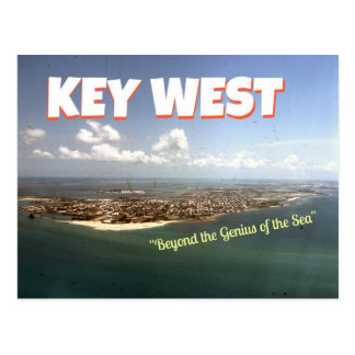 Key West Wallace Stevens-themed Postcard