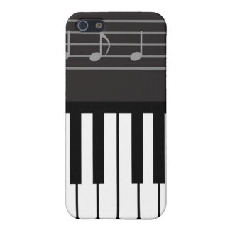 Keyboard and Music Scale iPhone 4 Case