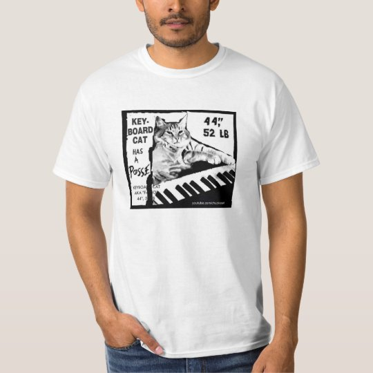 Keyboard Cat Has A Posse Shirt! T-Shirt