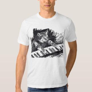 Keyboard Cat Pencil Drawing Shirt! Tees