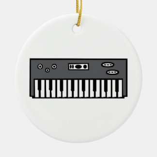 Keyboard Christmas Ornament