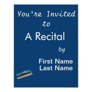 keyboard electronic blue.png 11 cm x 14 cm invitation card
