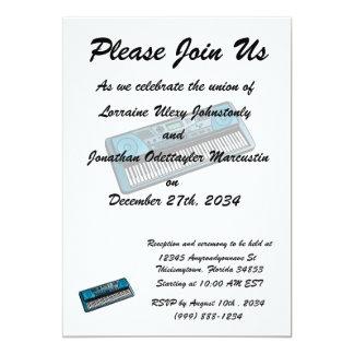 keyboard electronic blue.png 13 cm x 18 cm invitation card