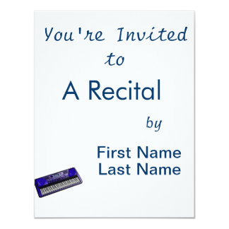 keyboard electronic dark blue.png 11 cm x 14 cm invitation card