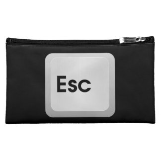 Keyboard Escape Key Cosmetic Bags
