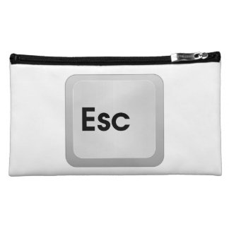 Keyboard Escape Key Makeup Bag