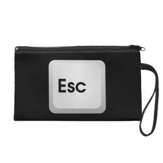 Keyboard Escape Key Wristlet