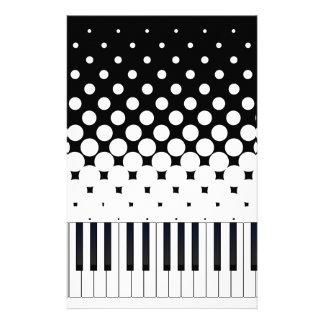 Keyboard Grunge Customised Stationery