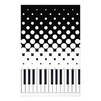 Keyboard Grunge Stationery