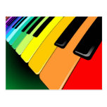 Keyboard Music Party Colours