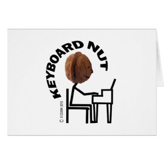 Keyboard Nut Card