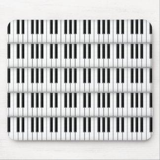 Keyboard Piano Keys Custom Mousepad