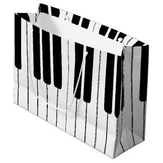 Keyboard Piano Organ Large Gift Bag