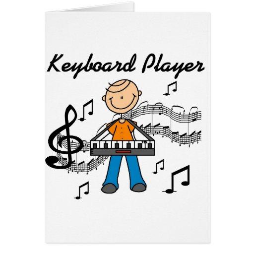 Keyboard Player Card