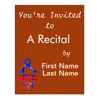 Keyboard player stick outline red blue cutout custom invites