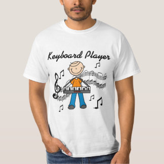 Keyboard Player Tshirts and Gifts