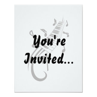 keyboard scroll and notes black.png personalized invitation