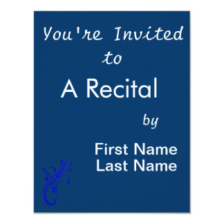 keyboard scroll and notes blue.png personalized invitation