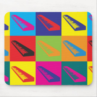 Keyboards Pop Art Mouse Mat