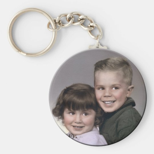 KeyChain1 Basic Round Button Key Ring