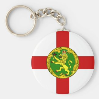 Keychain - Alderney Flag