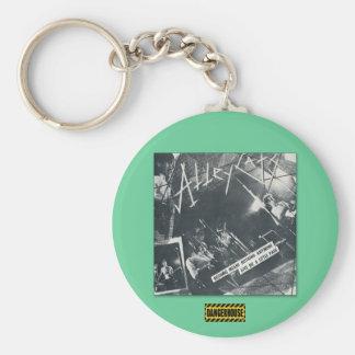 Keychain Alleycats Nothing(B&W) Dangerhouse