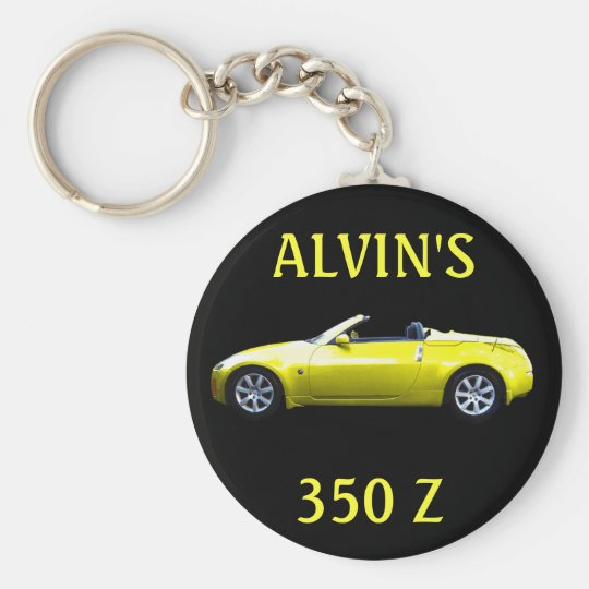 KEYCHAIN-ALVIN'S 350 Z KEY RING