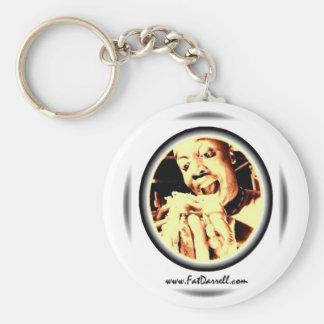 Keychain-Big Bite logo Basic Round Button Key Ring