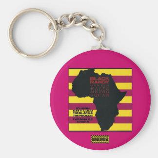 Keychain Black Randy Idi Amin  Dangerhouse