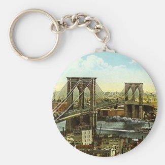 Keychain - Brooklyn Bridge