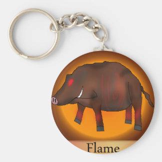Keychain Flame