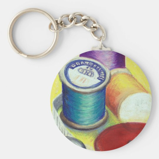 Keychain for a Quilter