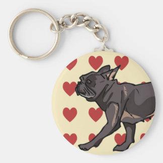 Keychain - French Bulldog