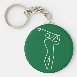 Keychain - Golf Player