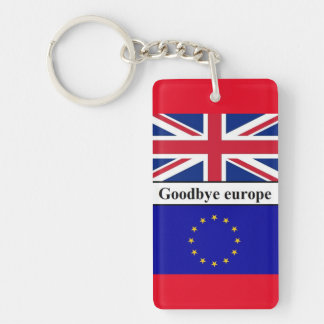 Keychain Goodbye Europe