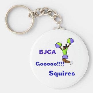 Keychain- Gooooo!!!!, Squires