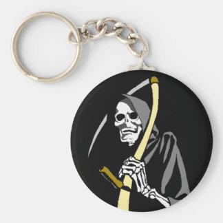 KEYCHAIN Grim Reaper Scythe Reaping Tool skeleton